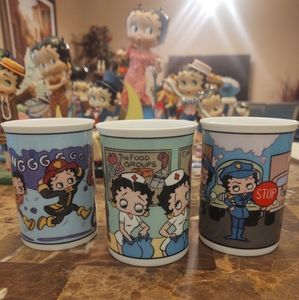 Betty Boop Coffee Mug Collection